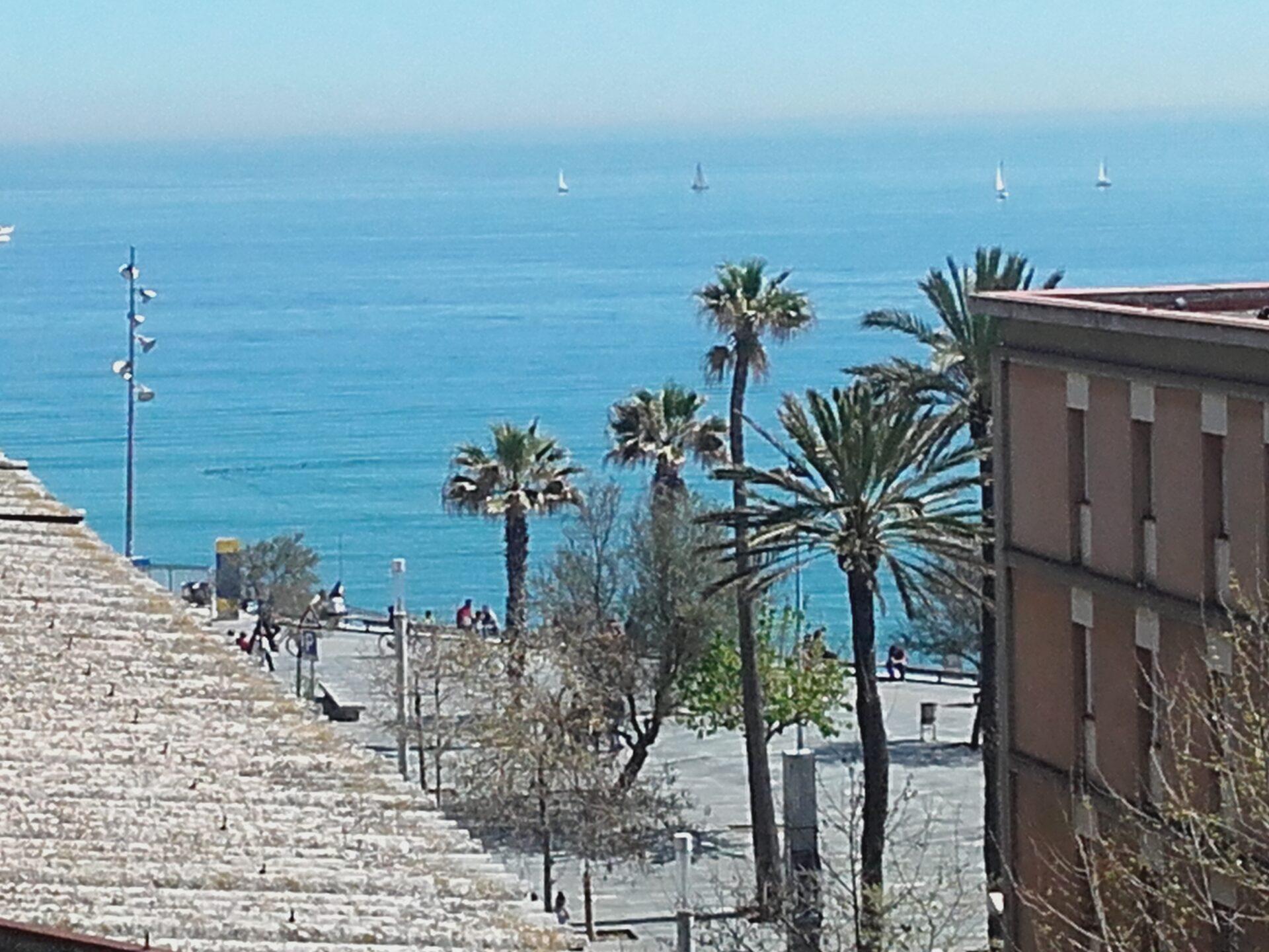 Piso con vistas al mar en la barceloneta barceloneta premium for Pisos con vistas al mar